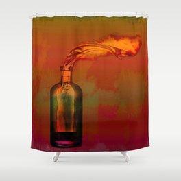 Molotov Shower Curtain
