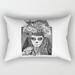 Sugar Skull - Día de Muertos - Day of the Dead Rectangular Pillow