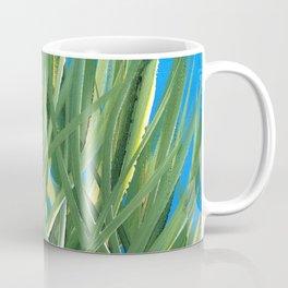 Grassy Pond Blue Green Coffee Mug