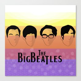 The Big Beatle Theory Canvas Print