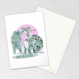 Bear Necessities #1a Bearly Secret Stationery Cards