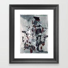 BPage Guns City Framed Art Print