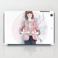 peach iPad Cases featuring Peach by missjosh