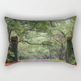 Driveway To The Past Rectangular Pillow