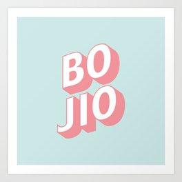 BO JIO Art Print