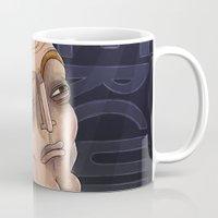 hercules Mugs featuring 21st Century's Hercules by Gülce Baycık