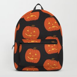 Spoopy Pattern Backpack