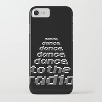 joy division iPhone & iPod Cases featuring Transmission - Joy Division by Werk Zerk
