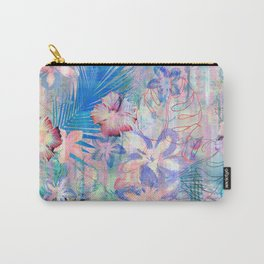 Haleiwa Tropical Pink Carry-All Pouch