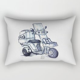Honda delivery scooter japan Rectangular Pillow
