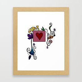 Love Grows, Baby Framed Art Print