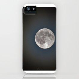 Blue Moon over North Carolina iPhone Case