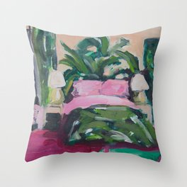 Golden Girls, Blanche's Boudoir Throw Pillow