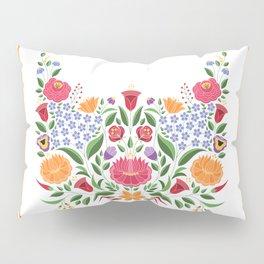 Hungarian folk pattern – Kalocsa embroidery flowers Pillow Sham