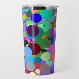 Circles #1 - 03062017 Travel Mug