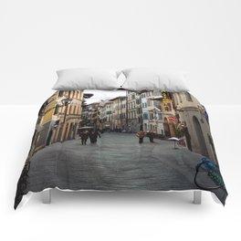 Via Faenza - Florence, Italy Comforters