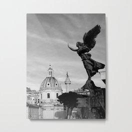 Angelo on Rome Metal Print
