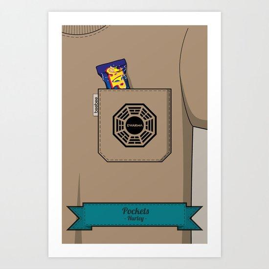 Pockets - Hurley - Art Print