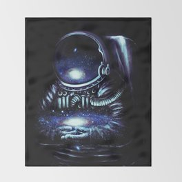 The Keeper Throw Blanket