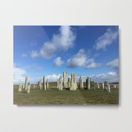 Ancient Stone Circle Metal Print