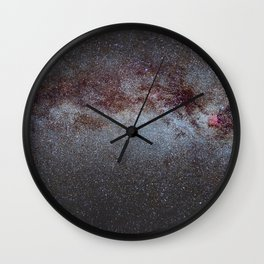 North America Nebula: the Milky way, from Cygnus to Perseus and Andromeda galaxy. Wall Clock