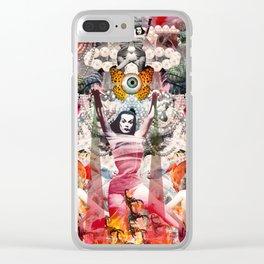 Vampira Clear iPhone Case