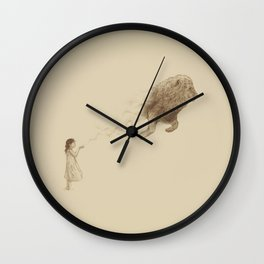 Sandy the Lion Wall Clock