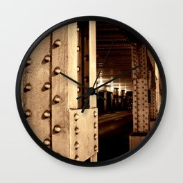 All About Structure Wall Clock