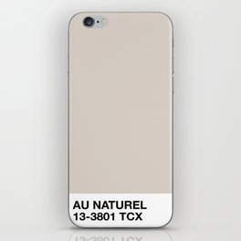 au naturel iPhone Skin