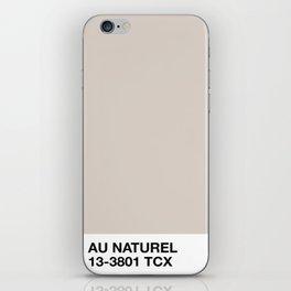 au naturel iPhone Skin