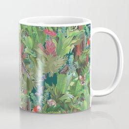 Into the Wild Emerald Forest Coffee Mug