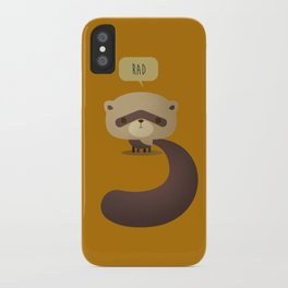 Little Furry Friends - Ferret iPhone Case