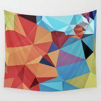 peace Wall Tapestries featuring inner peace by contemporary
