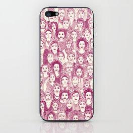 WOMEN OF THE WORLD CHERRY iPhone Skin