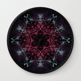 Gateway to Hollow Earth Wall Clock