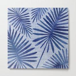 Mid Century Meets Mediterranean - Tropical Print Metal Print