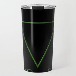 Earth Element Symbol Travel Mug