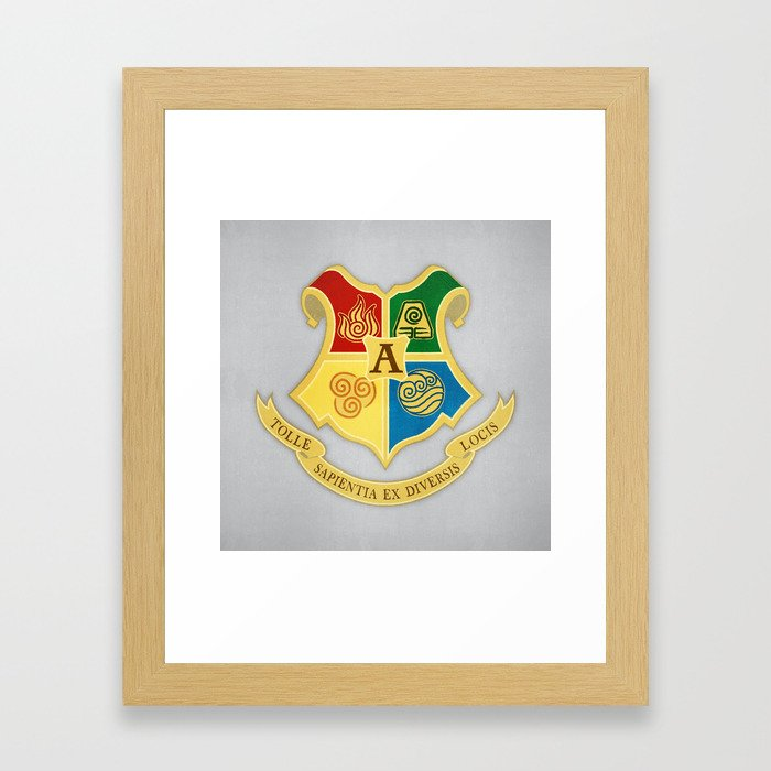The Avatar School of Bending Framed Art Print