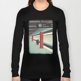 Day Trippers #3 - Waiting Long Sleeve T-shirt