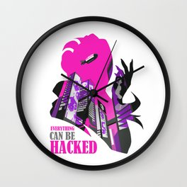 Hacked Wall Clock