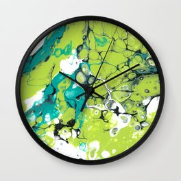 green is love Wall Clock