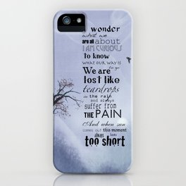 Wonder iPhone Case