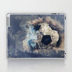 Abstract Grunge Soccer Laptop & iPad Skin