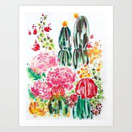 Paige's Garden Art Print