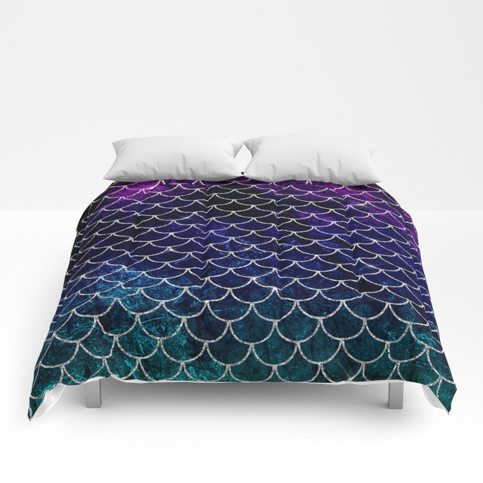 Fantasy Mermaid Scales Comforters