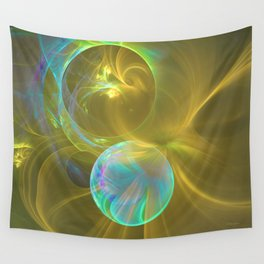 Eclipsing Spheres Wall Tapestry