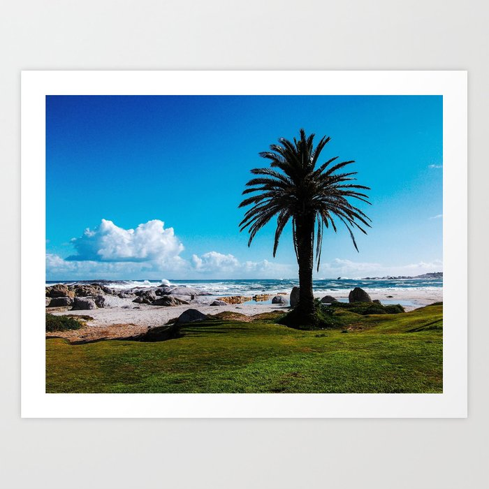 """Camps Bay, South Africa"" Art Print"