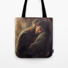 Never supposed to leave Tote Bag