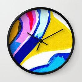 Rainbow Lava Wall Clock