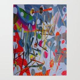 Abstract - Hawaiian Botanical Garden 1 Poster